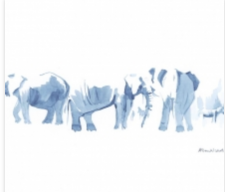 Wildlife painting | Alison Nicholls | Mishkalo