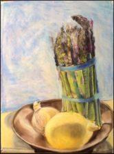 Asparagus - Painting by Stephanie Bird on Mishkalo.