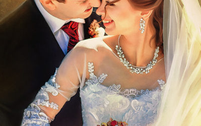 Custom Wedding Portrait vs Wedding Photograph