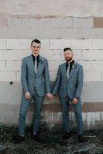 Gay wedding attire | Same sex wedding | Mishkalo