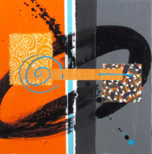 Groove Nation I by Artist Wendy Foster