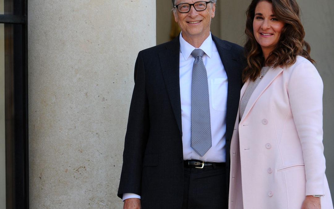 Bill & Melinda Gates Art Wedding Gift