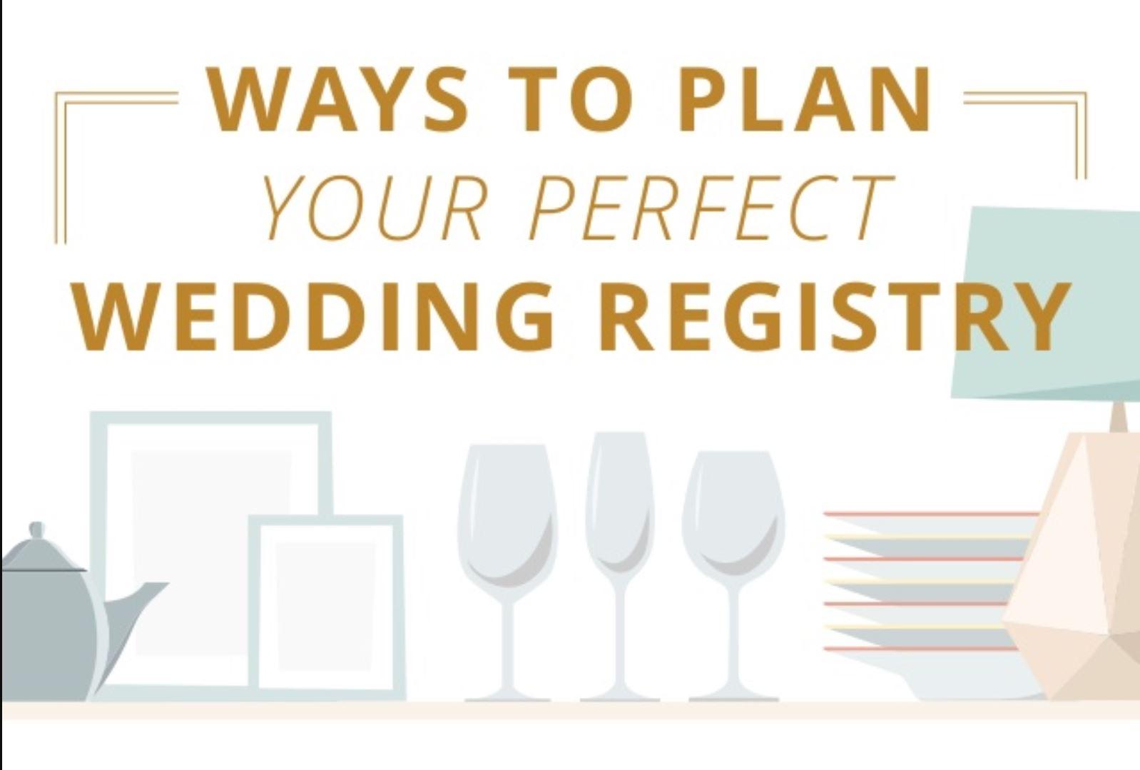 Plan your registry | Perfect Wedding Registry | Mishkalo