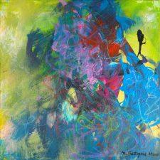 Uneasy by Artist Mira Satryan
