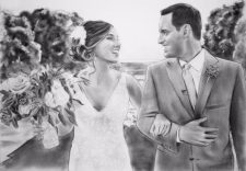 Wedding Portrait | Registry for Cohabiting Couples