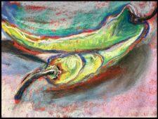 Chilli by artist Stephanie Bird on Mishkalo.