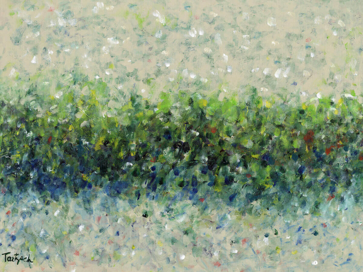 Hedgerow | Original Art bridal gift idea | Mishkalo Art Registry