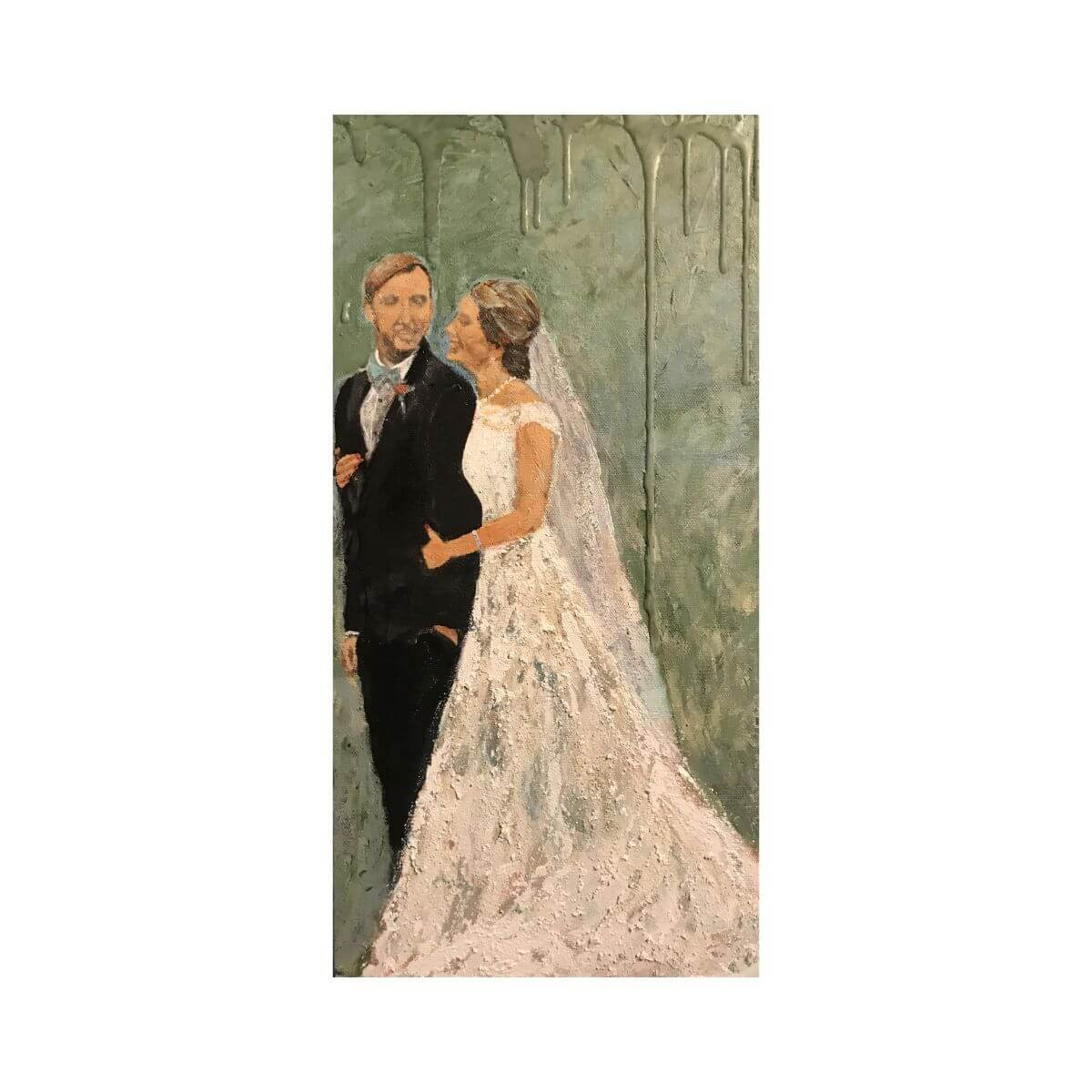 Abstract Bridal Portraits-10X20-1 | Wedding Anniversary Portrait | Mishkalo Bridal Registry