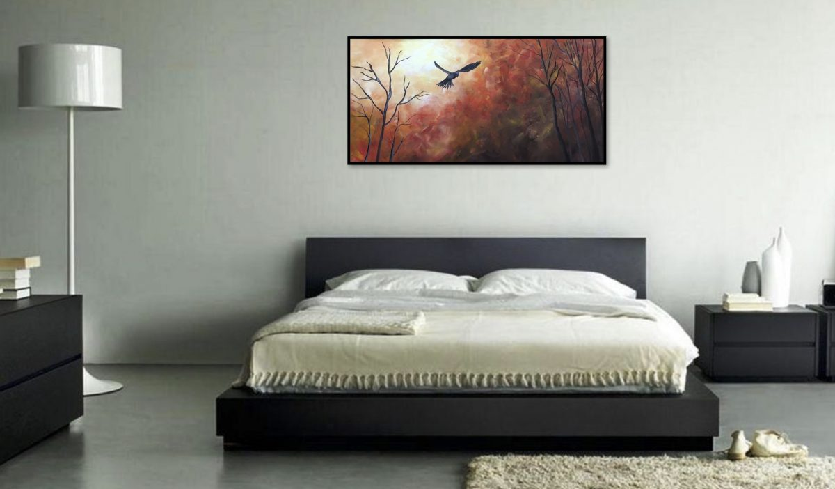 Autumn Flight | Wedding Present | Mishkalo Wedding Registry for Art
