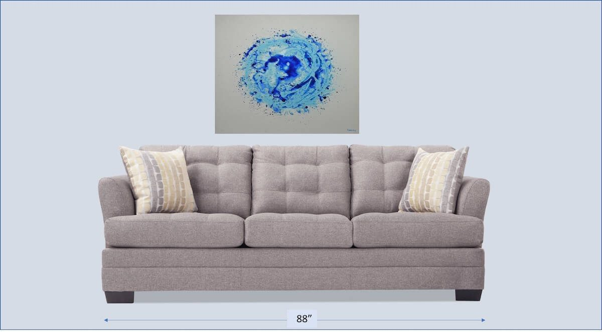 Blue Burst | Best bridal shower gift | Mishkalo Bridal Registry