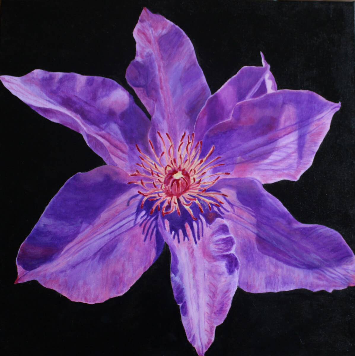 Clematis | Alternative bridal shower gift | Mishkalo Art Registry
