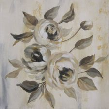 English Rose I | Original Art bridal present | Mishkalo Art Registry