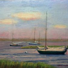 Fading Light On The Bay | Unique wedding anniversary gift | Mishkalo Art Registry