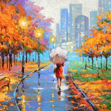 Farewell To Autumn | Different wedding gift idea | Wedding Registry for Art
