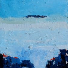 Fields In Blue | Art wedding registry | Mishkalo Art Registry