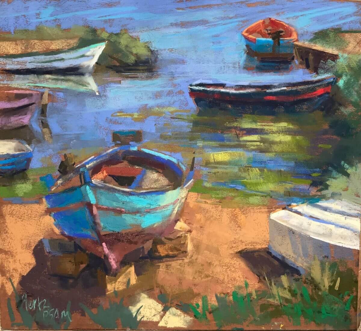Fishing Boats-Marsala | Fun marriage registry | Mishkalo Bridal Registry