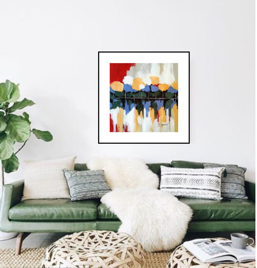 Forest Reflection | Unusual gift | Bridal Registry for Art