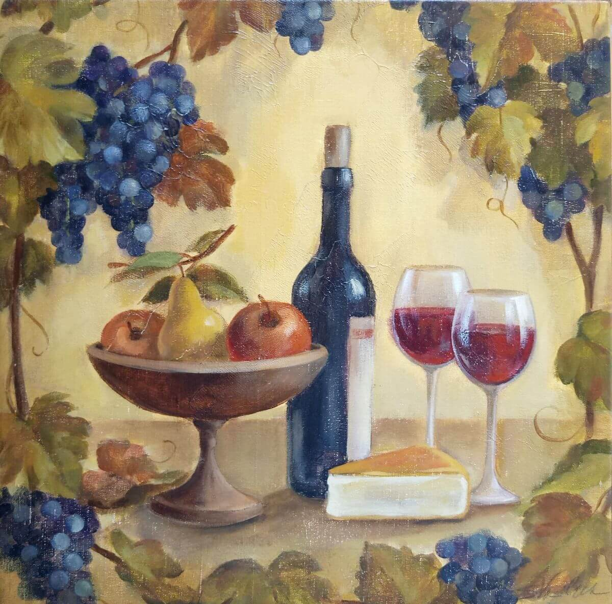 Grapes And Wine | Cool bridal gift | Mishkalo Bridal Registry