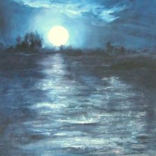 In The Depths | Painting wedding gift | Bridal Registry for Art