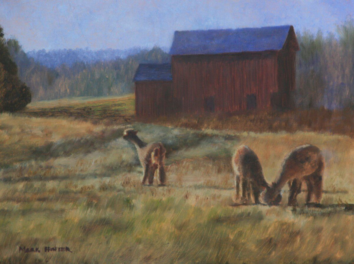 Late Afternoon Light | Artistic second marriage present | Wedding Registry for Art