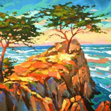 Lonely Pines | Best gift | Bridal Registry for Art