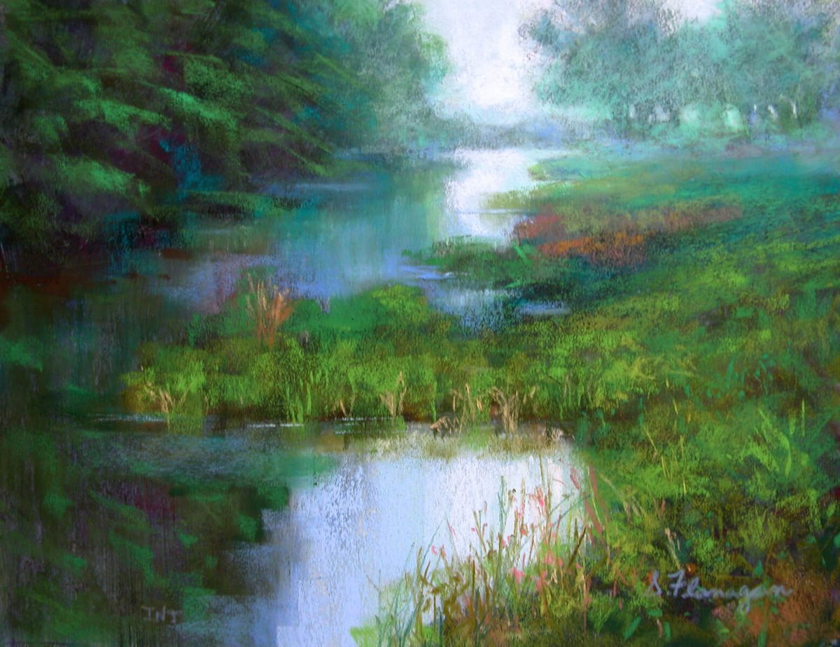 Misty Morning On The Creek | Alternative checklist | Mishkalo Art Registry