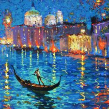 Night At Venetia Canal | Fun registry | Wedding Registry for Art