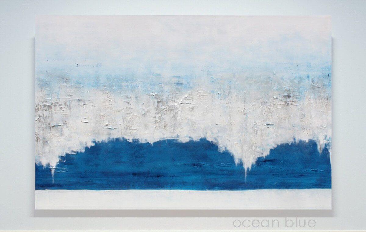 Ocean Blue | Original Art gift idea | Bridal Registry for Art