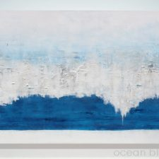 Ocean Blue | Original Art gift idea | Bridal Registry for Art