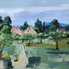 Olive Trees - Somewhere In Provence | Elegant second marriage gift idea | Mishkalo Art Registry
