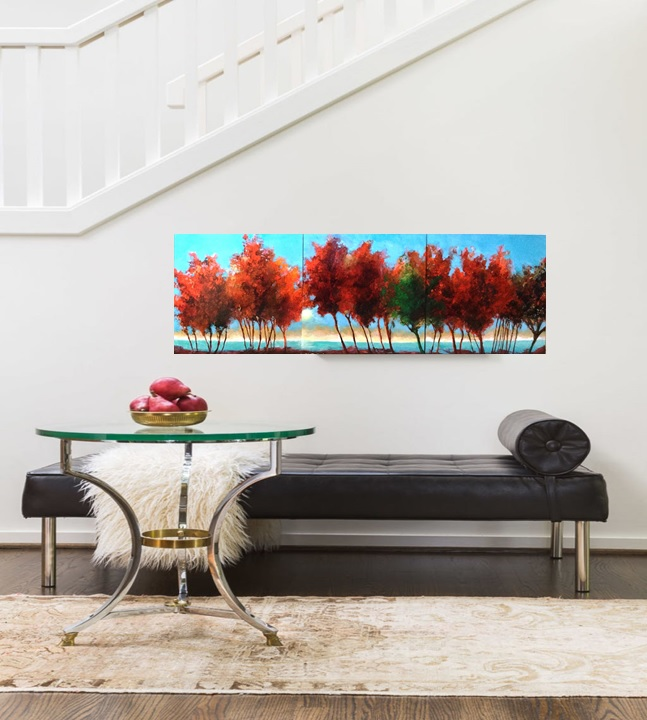 One Morning In Fall | Classy second marriage gift | Bridal Registry for Art