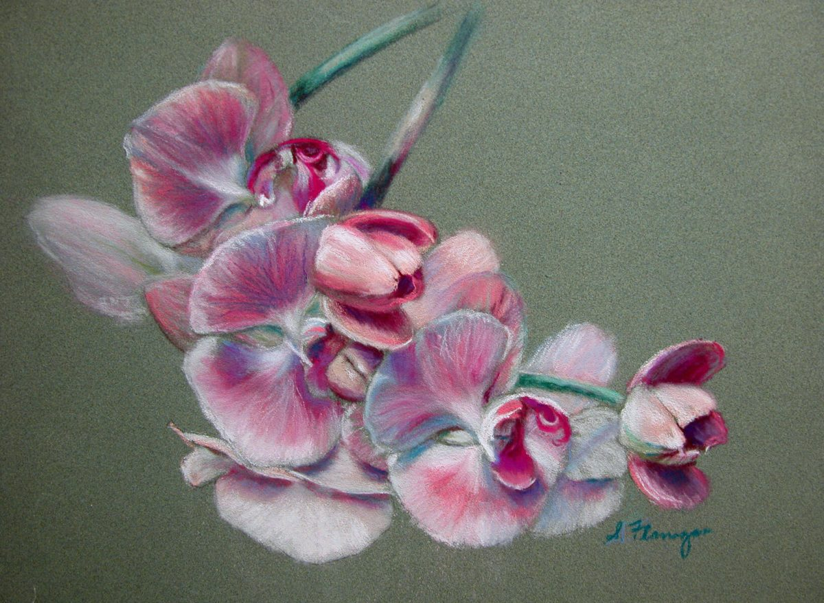Orchid 1 | Wedding Anniversary gift idea | Mishkalo Wedding Registry for Art
