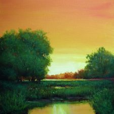 Quiet Sunset On The Marsh | Bridal gift idea | Bridal Registry for Art