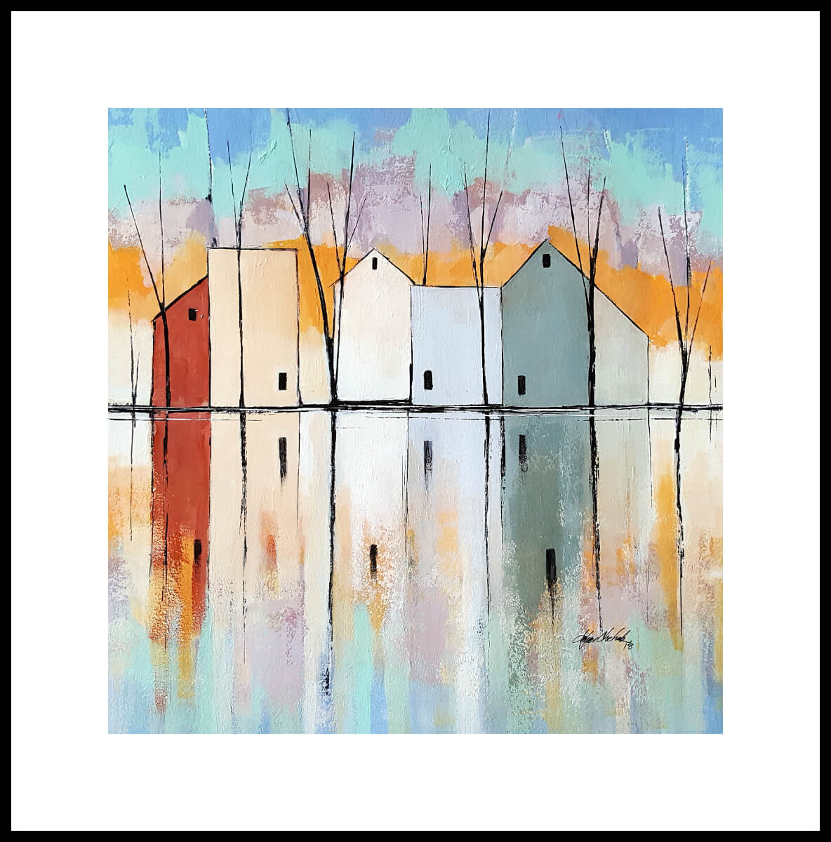 Reflection Pond | Classy second marriage gift idea | Wedding Registry for Art