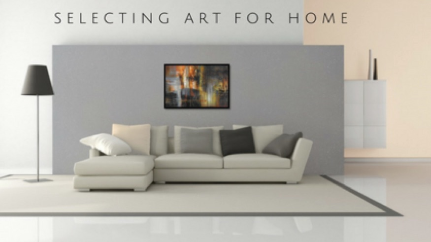 Buying art for home