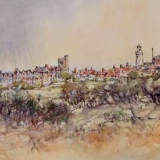 Southwold: Passing Rain | Artistic wedding gift | Mishkalo Art Registry