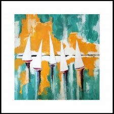 Sunrise Sail | Artistic wedding gift idea | Bridal Registry for Art