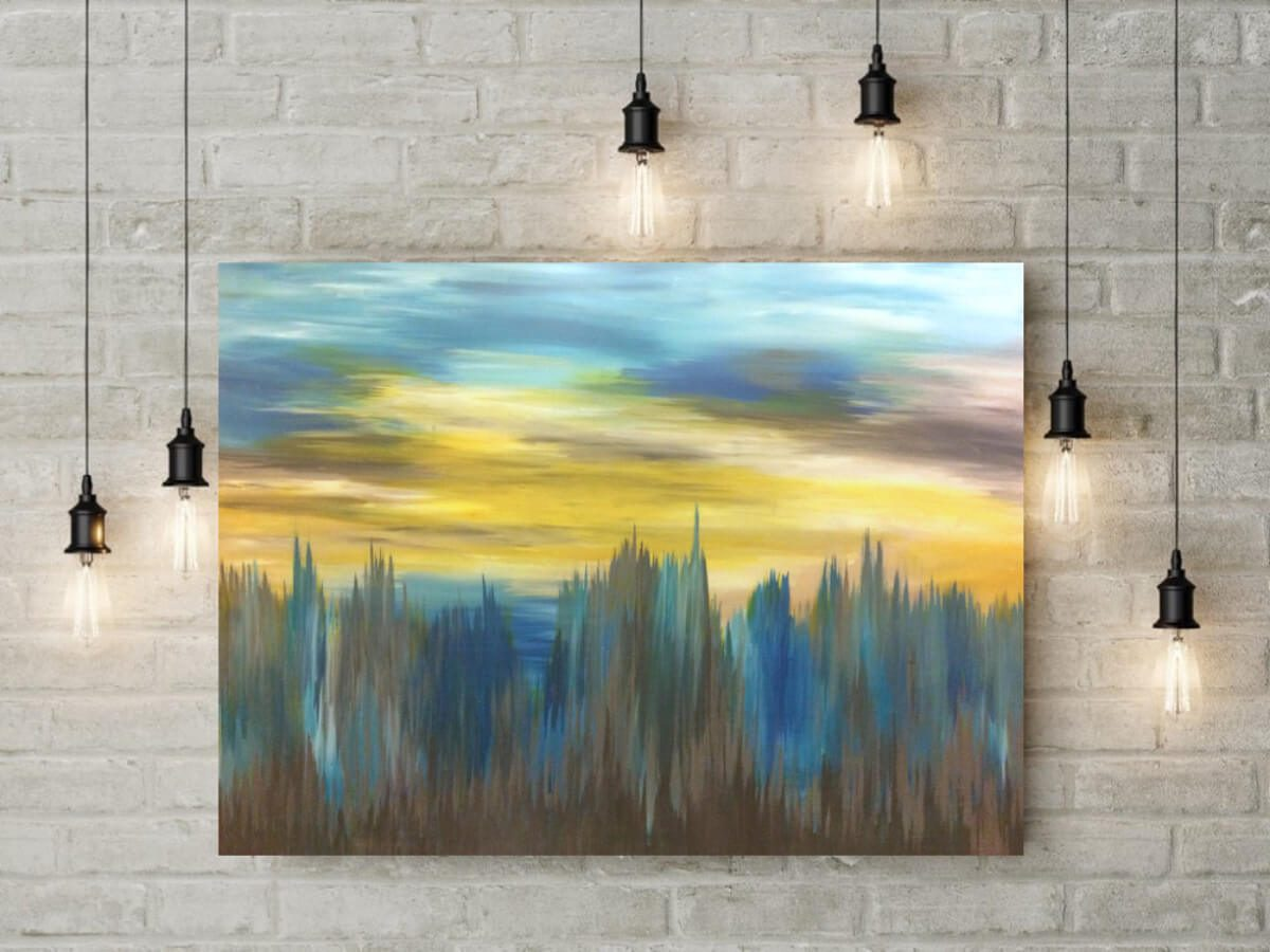 Sunset | Marriage gift idea | Wedding Registry for Art