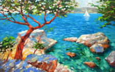 The View Of The Azure Bay | Alternative marriage present | Mishkalo Bridal Registry