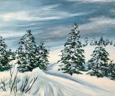 Paint and Sip Night| Team Building| Holiday Party | Mishkalo