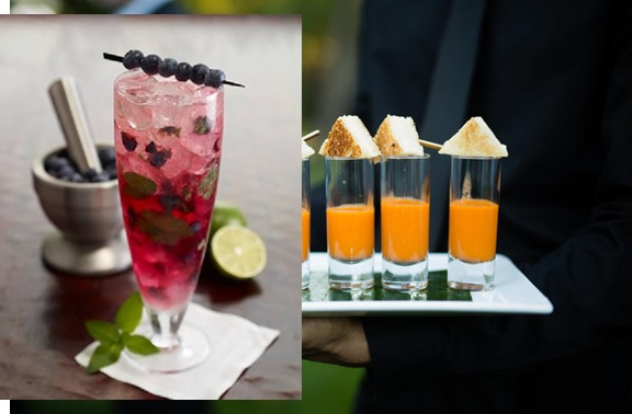 Add a Punch to your Wedding Reception Cocktail Hours
