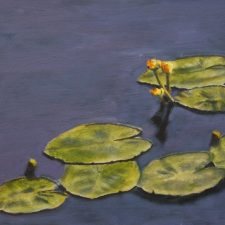 Water Lilies | Unique bridal shower present | Wedding Registry for Art
