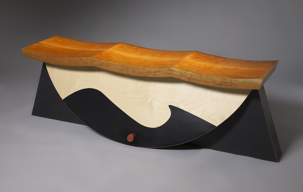 Wave Bench | Unusual wedding gift idea | Mishkalo Wedding Registry for Art