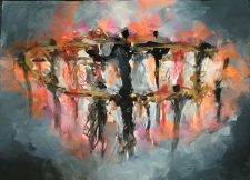 We Are The Fire | Art wedding gift | Bridal Registry for Art