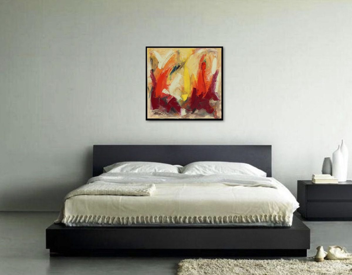 Abstract Art Sixty-One   Marriage gift   Mishkalo Art Registry