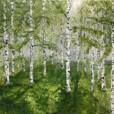 Birches In Spring Fog | Wedding checklist | Mishkalo Wedding Registry