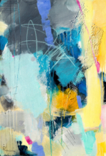 Blue And Yellow | Wedding Present | Bridal Registry for Art