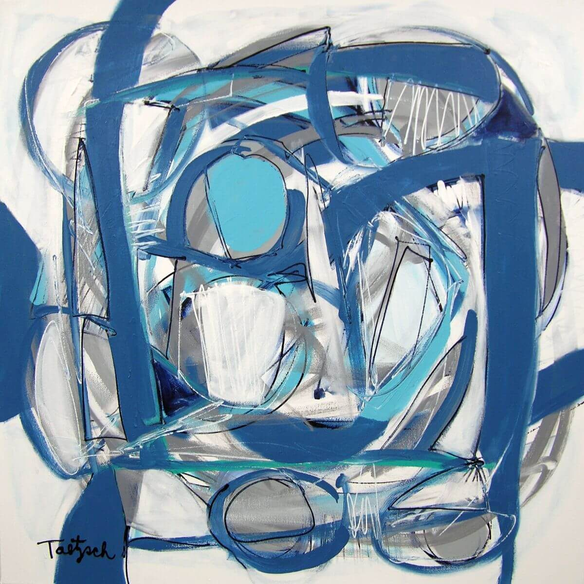 Blueberry Pond | Art bridal present | Mishkalo Wedding Registry