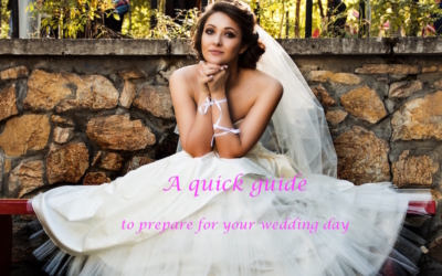 A Wedding Planning Checklist to prepare for your wedding day