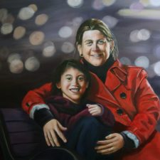 Wedding Portrait | Oil Portrait Painting | Mishkalo Registry for Art